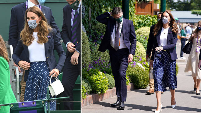 Kate Middleton quickly left Wimbledon after receiving the message to self-isolate