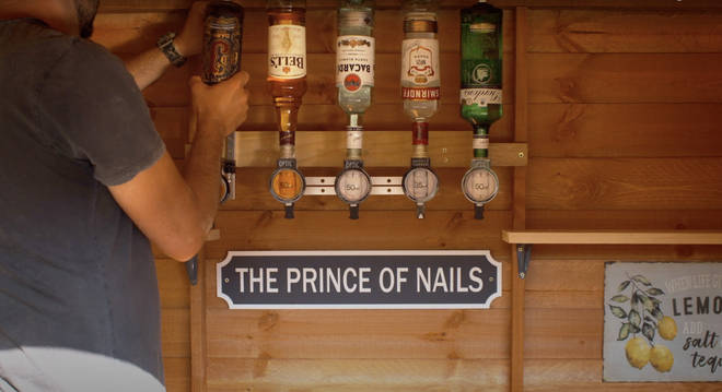 You can stock your bar with whatever you like most!