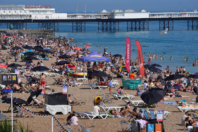 Brits will be basking in a heatwave later this month