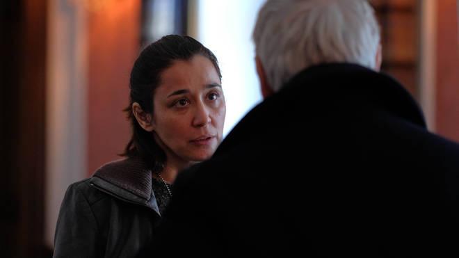 Dorka Gryllus as Zsófia Arslan in Baptiste