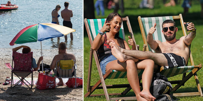 The heatwave is due to arrive next week