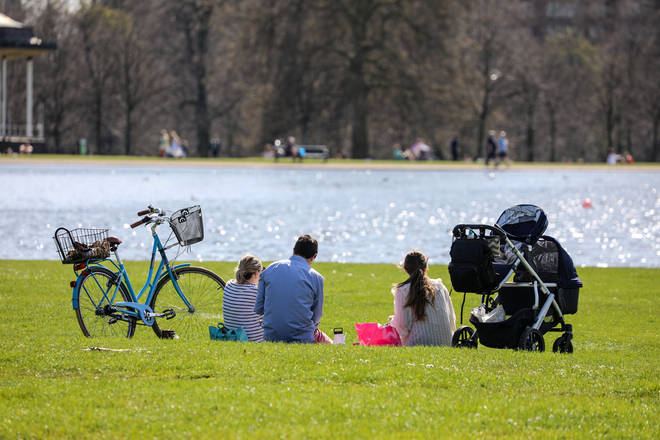 Brits look set to bask in 27C heat from next week