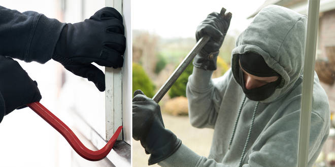 You can now hire an ex-burglar to check how safe your home is (stock images)