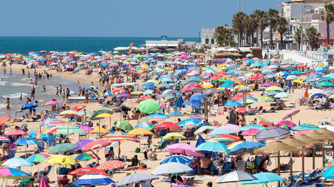 Double vaccinated Brits can book a holiday to Spain from July 19