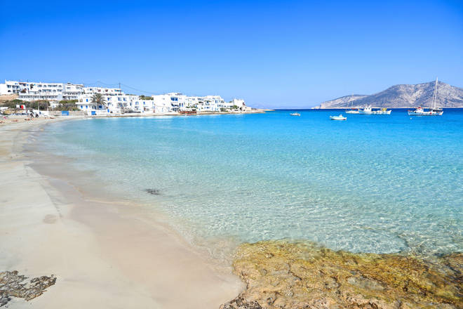 Greece is currently on the 'amber' travel list
