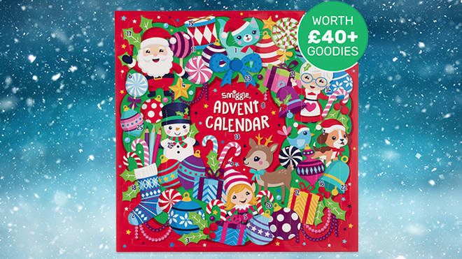 Smiggle's advent calendar is bursting with stationary