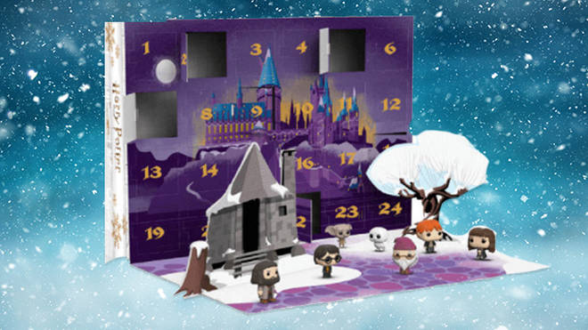 Funko Pop have recreated Hogwarts with this fun calendar