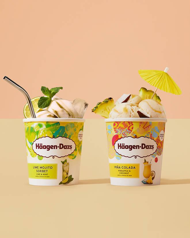 Try blending these in to a boozy frozen milkshake