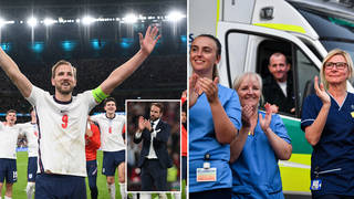 The England squad are said to be donation their bonuses to the NHS
