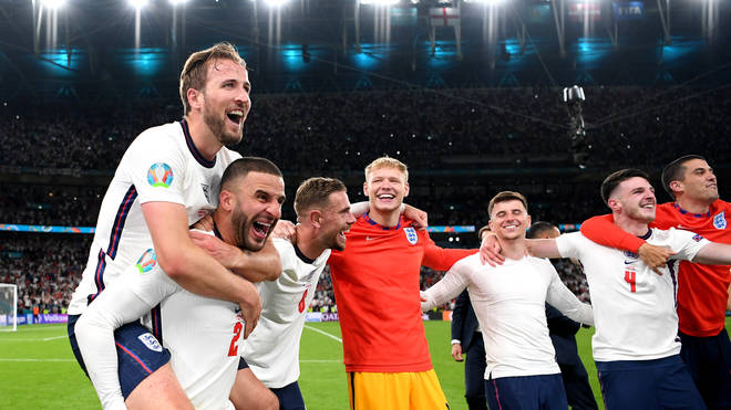 England will play Italy in the final of the Euros 2020 at Wembley Stadium this Sunday