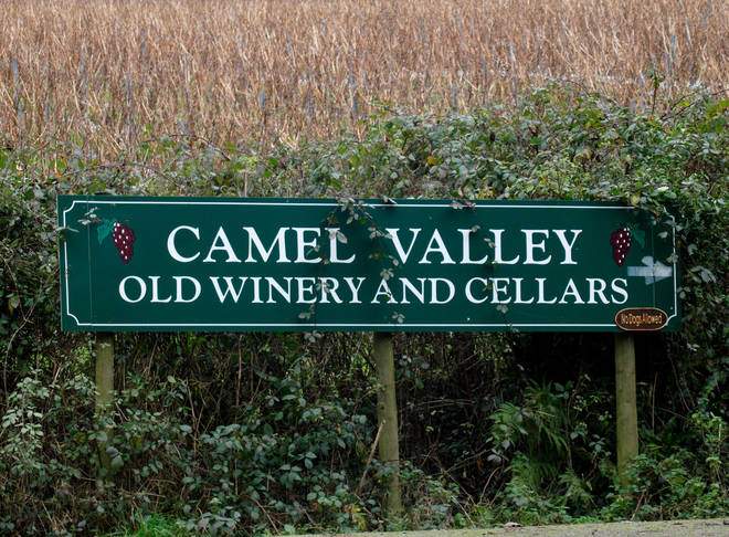 Camel Valley is the only English vineyard to carry a Royal warrant