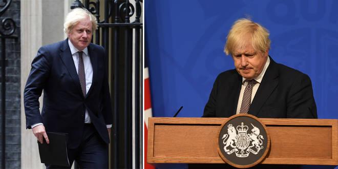 What time will Boris Johnson speak today?