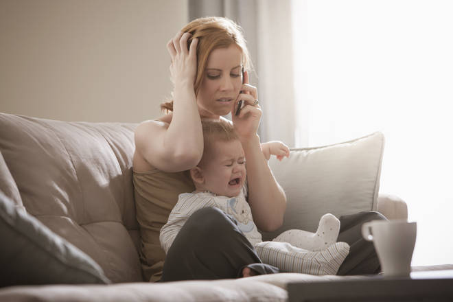 This is a scenario very familiar to a lot of parents (stock image)