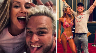 Olly Murs has hit out at trolls who targeted his girlfriend Amelia