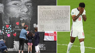 Children have been penning letters to Marcus Rashford following Sunday's match