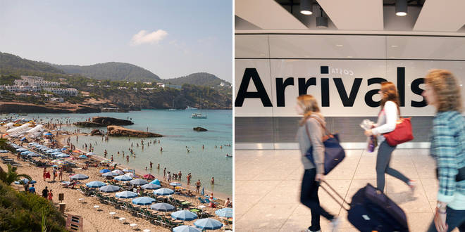 Will the Balearic Islands move to the amber list?
