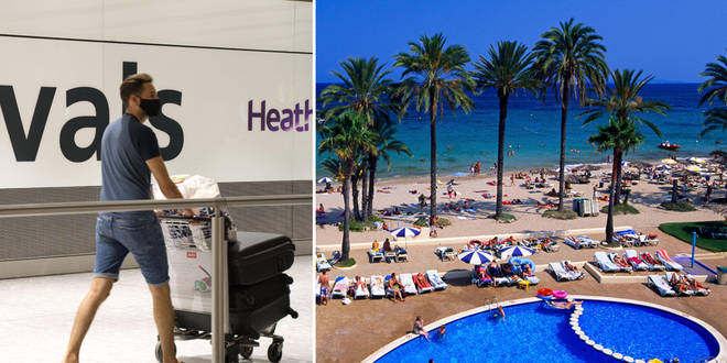 Ibiza is reportedly at risk of moving back to the amber list