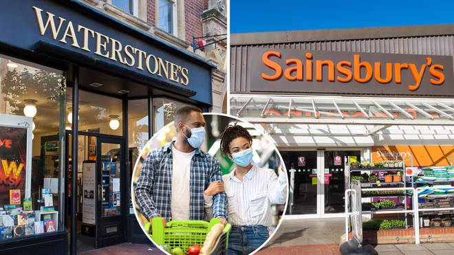 Some brands are still asking customers to wear face masks when shopping