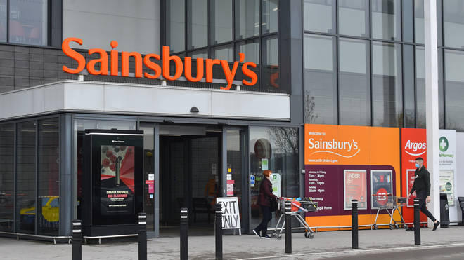 Sainsbury's are encouraging customers that can to continue wearing a mask while shopping