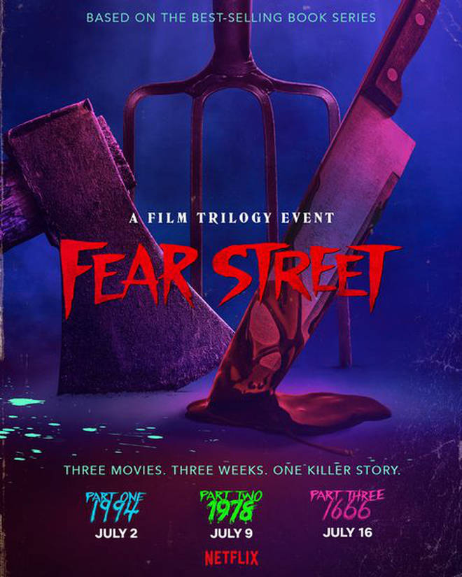 The first two Fear Street films dropped on Netflix in July
