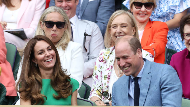 Kate and William attended the final day of Wimbledon 2021
