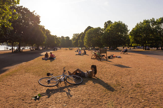 Forecasters have predicted the hot weather will continue over the next few days