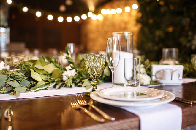 Wedding guest were asked to stick to a list of 10 rules (stock image)