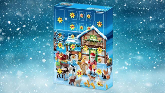 Playmobil's 2018 calendar is set farmyard themed