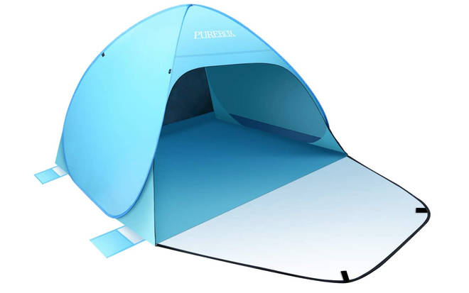 Purebox Automatic Pop-Up Beach Tent