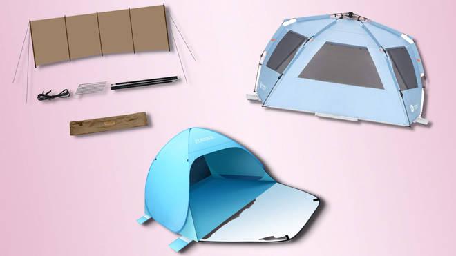 Best beach tents & windbreakers for summer 2021