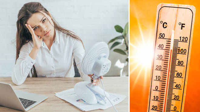 How hot is too hot for work?