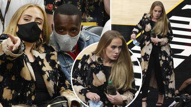 Adele looked gorgeous over the weekend as she flaunted her new look