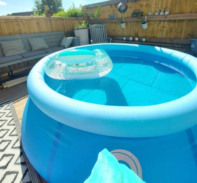 The incredible pool costs less than £20