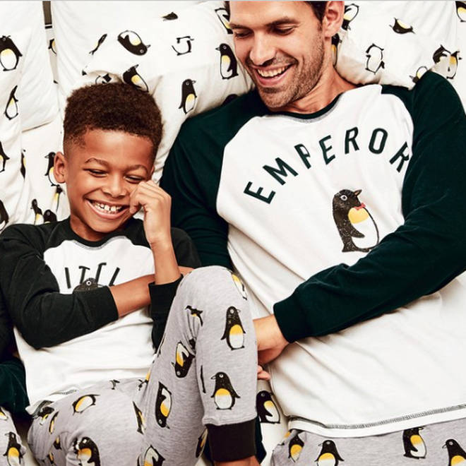 These penguin PJ's are perfect for a movie night