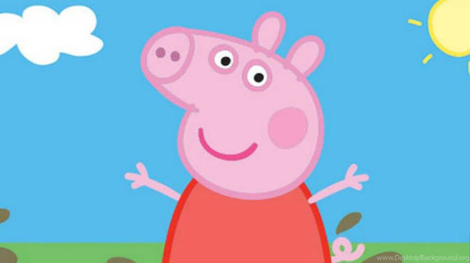 Peppa Pig first aired in 2004