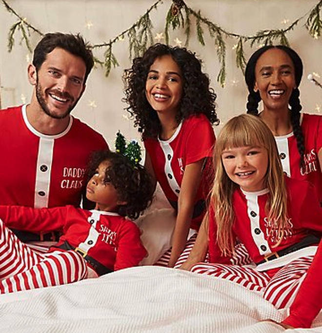 These family santa pyjamas are perfect for the entire brood