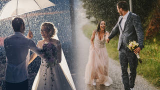 Are you determined to have good weather on your wedding day?