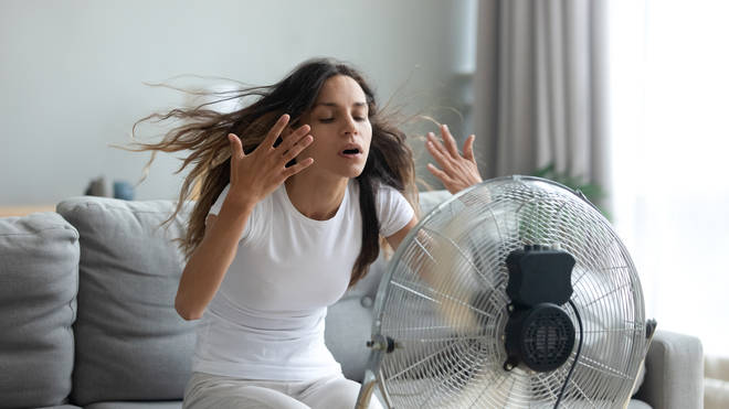Research has found that in certain types of heat, a fan can actually raise your body temperature