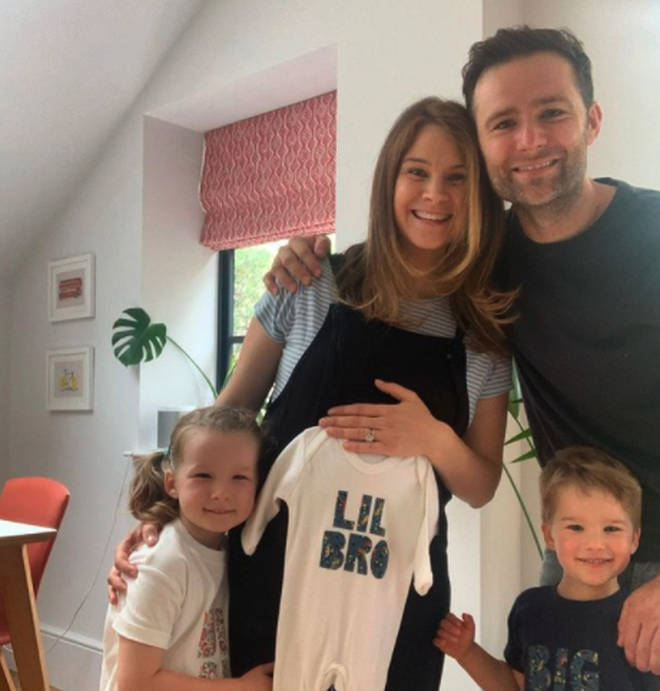 Harry and Izzy Judd revealed they are expecting a baby boy