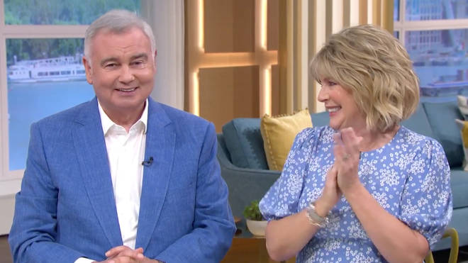 Eamonn announced the exciting news on This Morning earlier this week