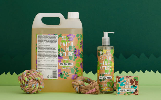 We LOVE Faith In Nature products - and now your pooch will, too!