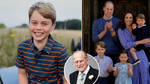 Prince George turns eight today