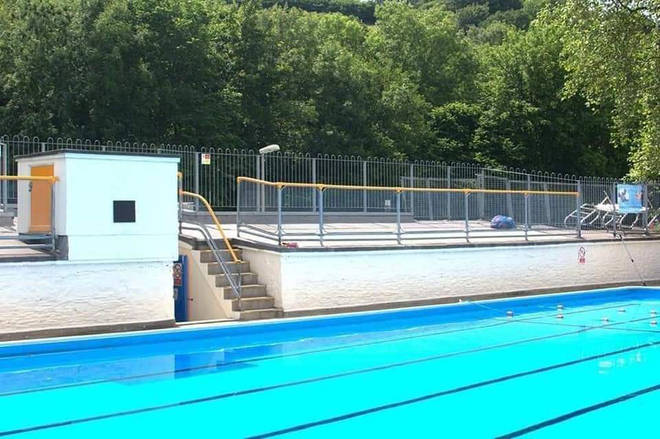 This is a gorgeous lido in South Devon