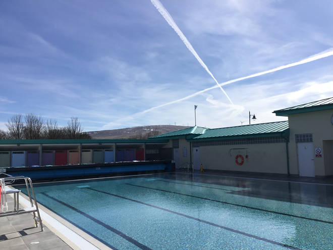 This is a beautiful pool in the heart of Ayrshire, Scotland