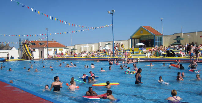 This lido is a fantastic outing for families and serious swimmers