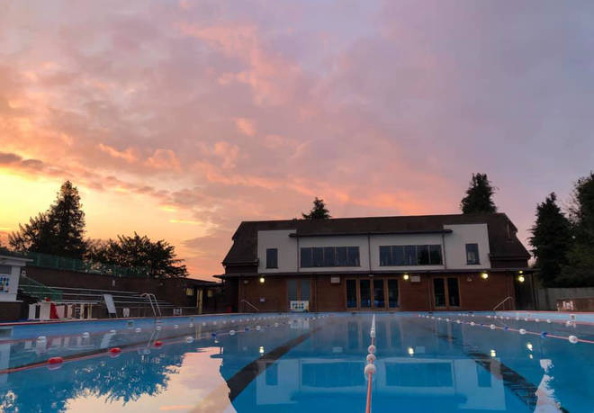 Wycombe Rye Lido is a peaceful swimming spot in South Bucks
