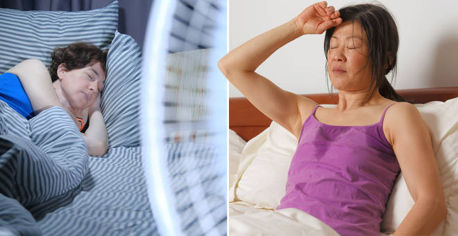 A simple trick could help you sleep better in the hot weather (stock images)