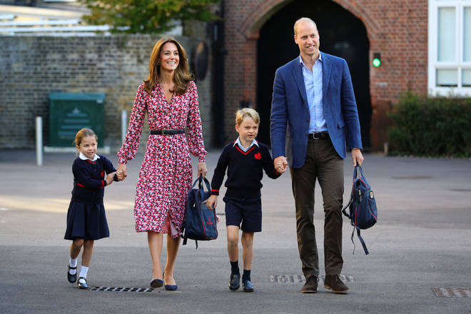 Prince George and Princess Charlotte both attend school in Battersea, south London