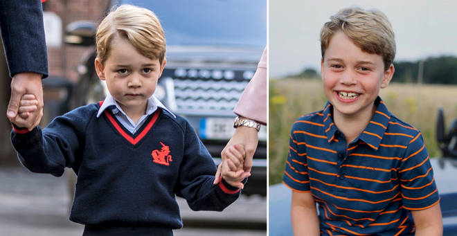 Prince George is known by a different name at his school in Battersea