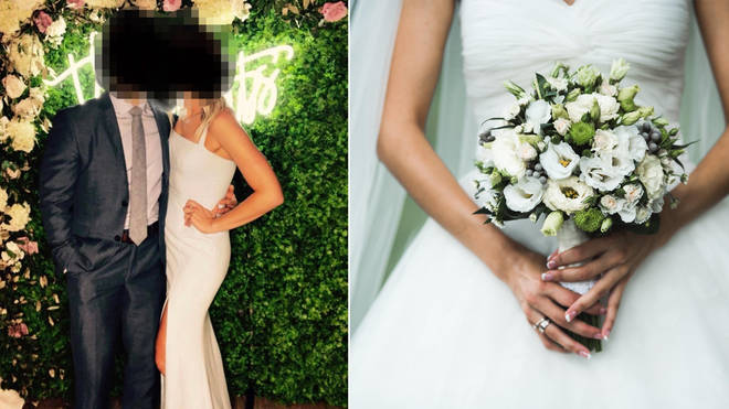 A wedding guest has been shamed after wearing a white dress